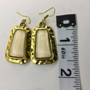 Small Gold Dangle Earrings